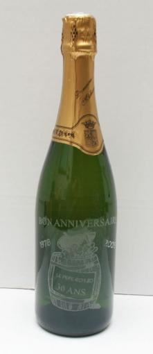 Bouteille de Champagne personnalisée - 75 cl