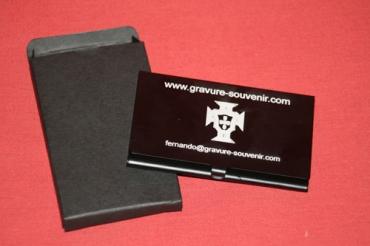 Porte carte de visite personnalisé - le cadeau pour vos clients et prospects