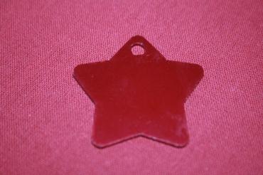 médaille étoile gravée pour animaux