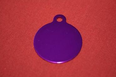 médaille gravée ronde pour animaux