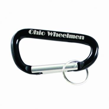Porte clefs mousqueton gravé et personnalisé