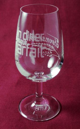service de 6 verres a vin inao transparent