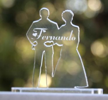 marque place pour mariage : mariés 2