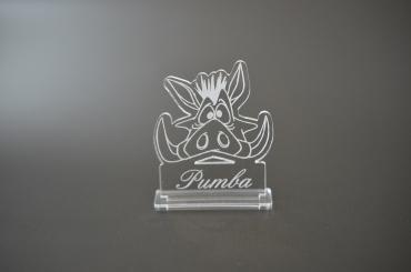 marque place personnalisé : Pumba