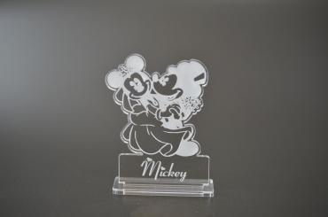 marque place personnalisé : Mickey et Minnie