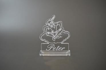 marque place personnalisé : Peter Pan