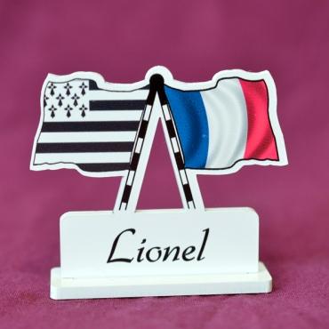 marque place personnalisé Bretagne & France