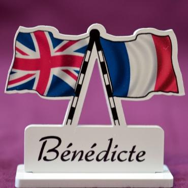 marque place personnalisé Grande Bretagne & France