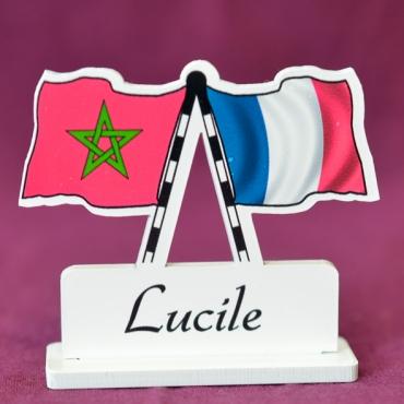 marque place personnalisé Maroc & France