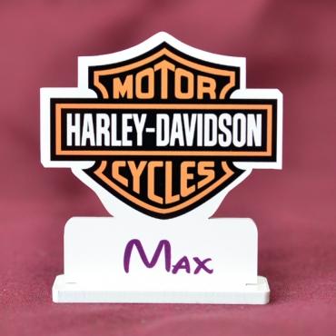 marque place couleur logo Harley Davidson