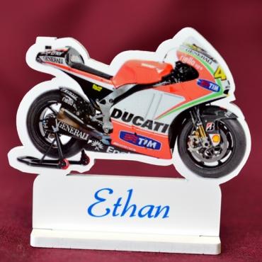 marque place couleur moto Ducati