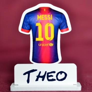 marque place FC Barcelone Lionel Messi