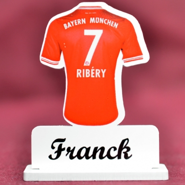 marque place couleur Bayern Franck Ribery