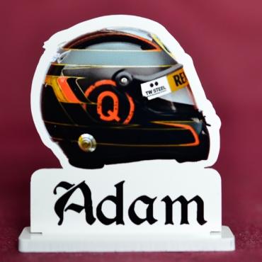 marque place couleur casque de formule 1