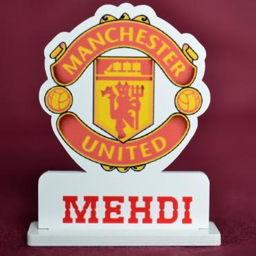 marque place couleur logo Manchester United