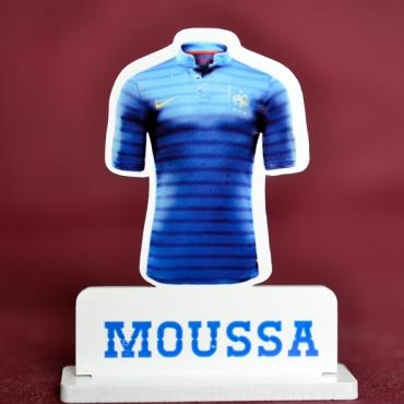 marque place couleur maillot de foot de la France