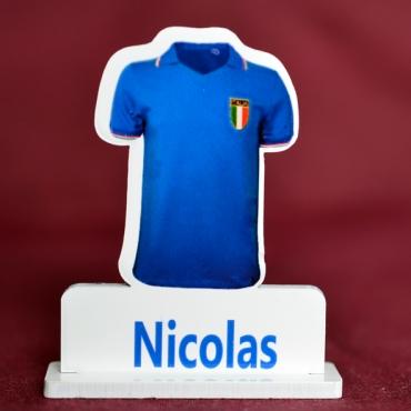 marque place couleur maillot de foot de l'Italie