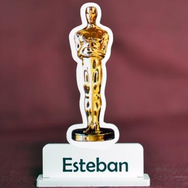 marque place couleur Oscar du cinéma
