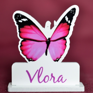 marque place couleur papillon