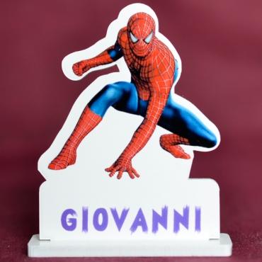 marque place couleur Spiderman