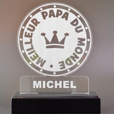 trophée du meilleur papa du monde