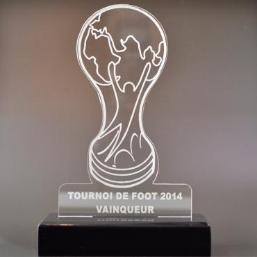 trophée football 01