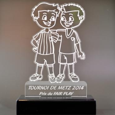 trophée football 04