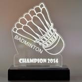 trophée badminton