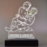 trophée judo sport combat