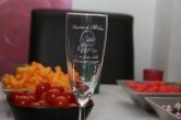 fl�te � champagne gravee personnalisee pour bapteme et naissance