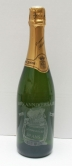 bouteille de champagne gravee et personnalisee pour naissance et bapteme