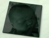 dessous de verre photo graves sur du plexiglas